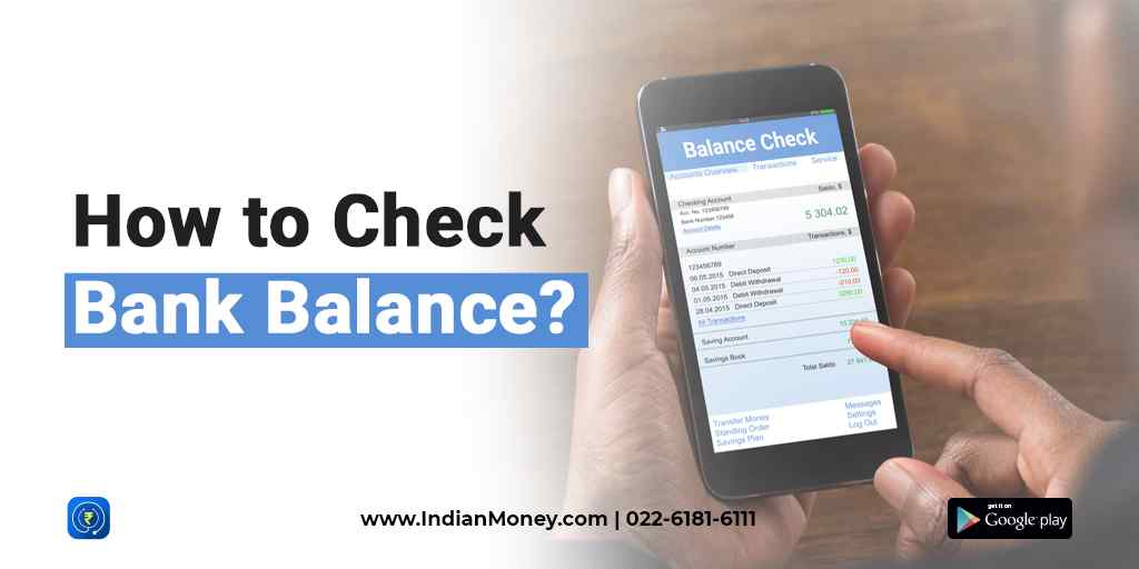 How to Check Bank Balance?