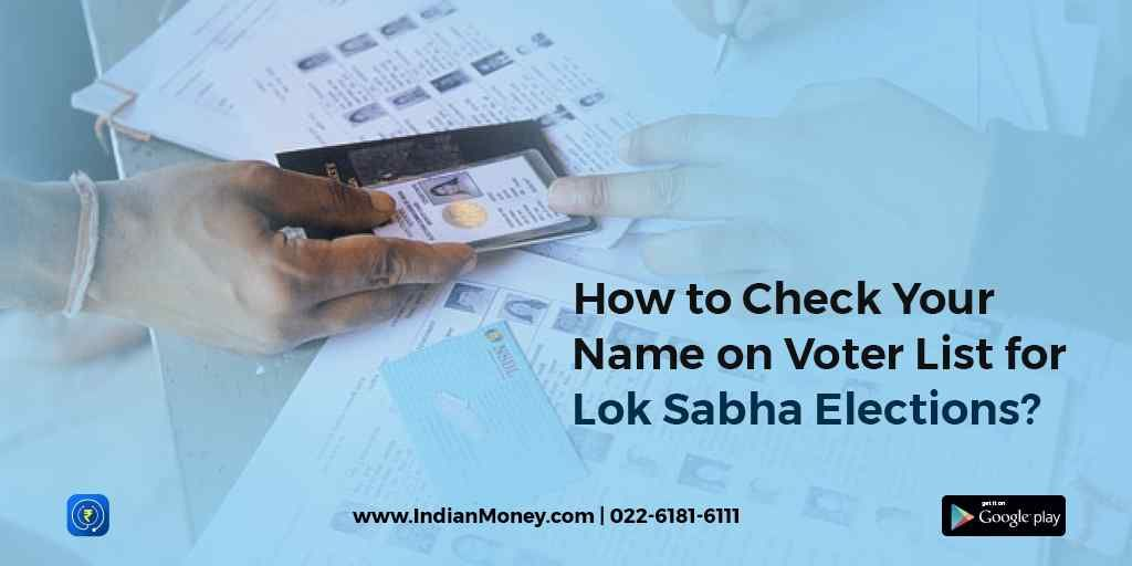 How To Check Your Name On Voter List For Lok Sabha Elections?