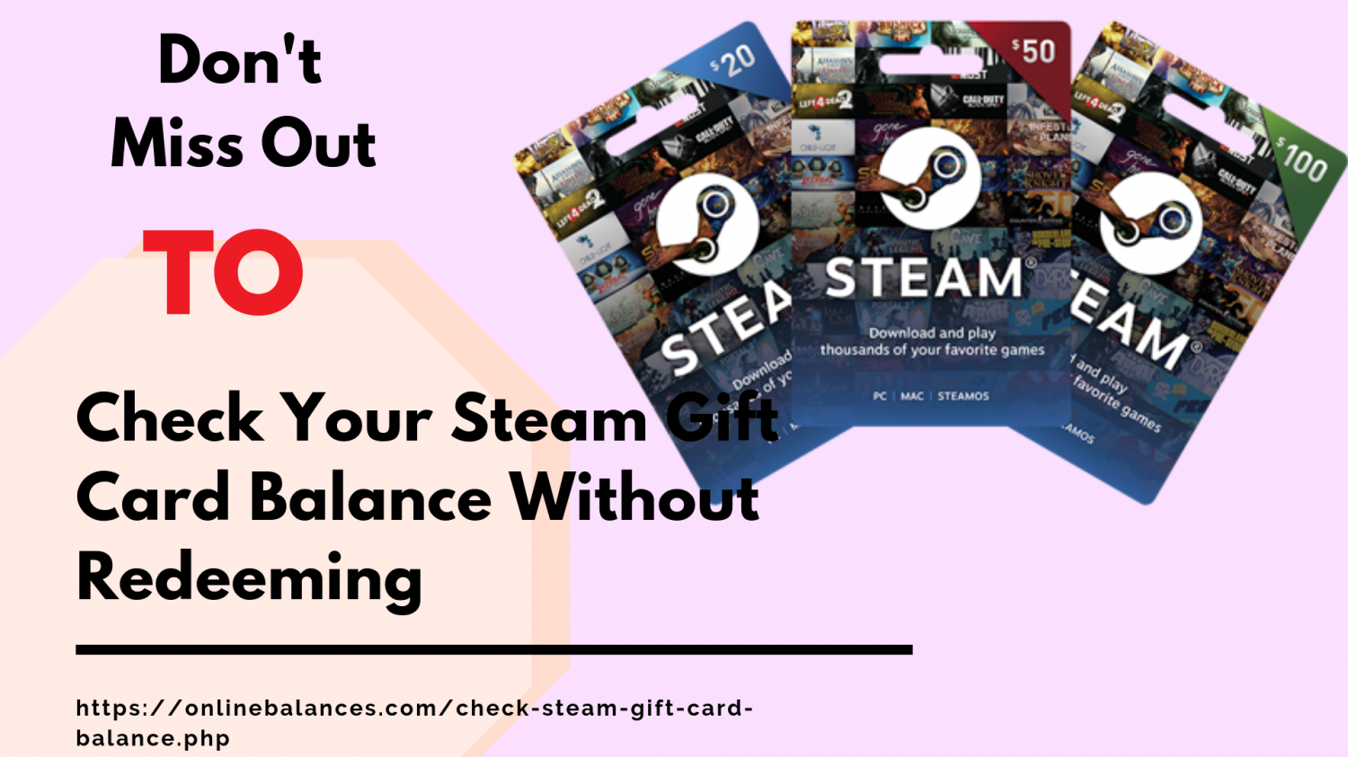 How To Top up and Check Wallet Balance Of Steam Gift Card?   Visual.ly