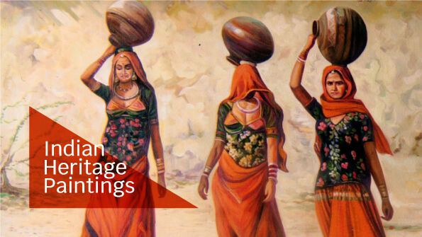 Buy Canvas Painting | Indian Wall Art Online Gallery