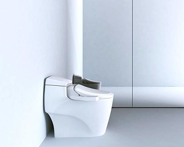 Electronic bidet toilet seats attachments