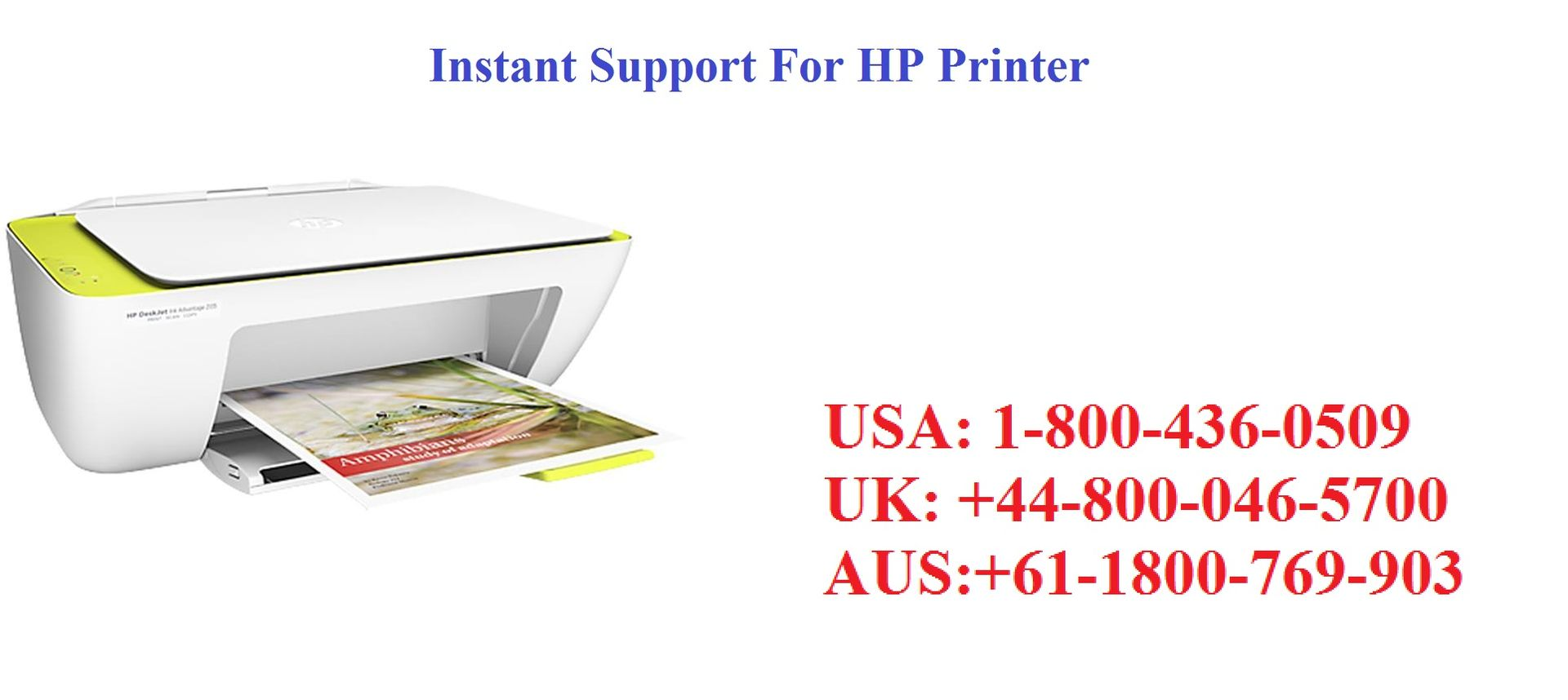 HP Printer Technical Support Number 1-800-436-0509 Toll Free