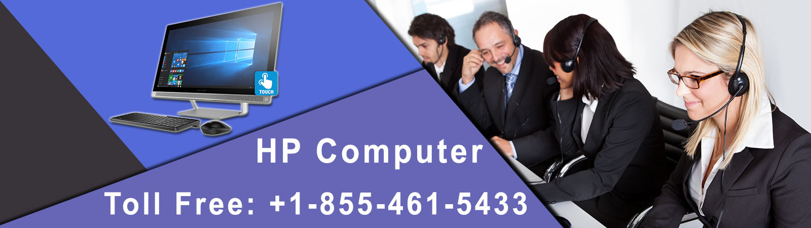 HP Computer Repair Technical Support Number +1-855-461-5433
