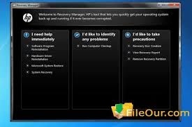 HP Recovery Manager Download For Windows