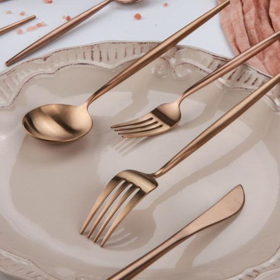 Best Place to Buy Rose Gold Flatware Online