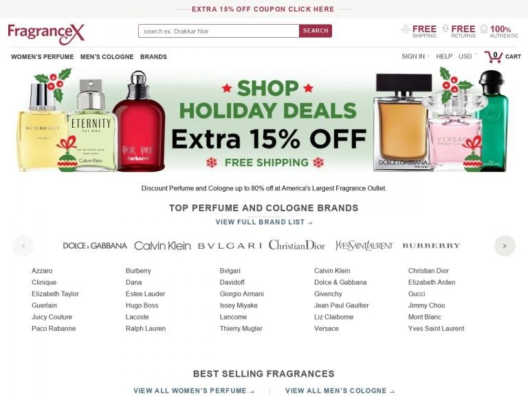 FragranceX Promo Code - Coupon Code | FragranceX Discount Coupon