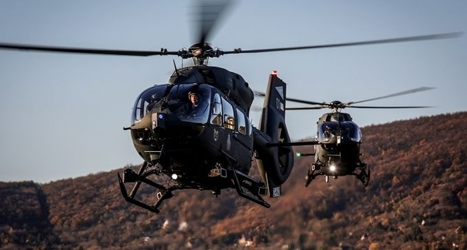 Hungary receives its first two H145Ms  Aircraft Manufacturers
