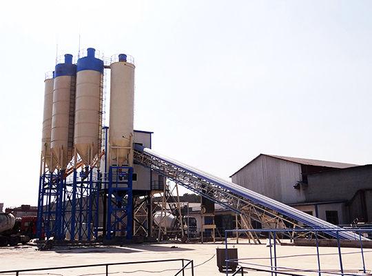 Planta De Concreto Semiautomática - AIMIX Grupo Fabricante Profesional