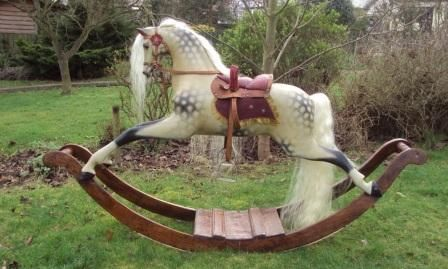 Identifying An Antique Rocking Horse