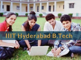 IIIT Hyderabad B.Tech Admission 2019 - Application Form, Exam Dates