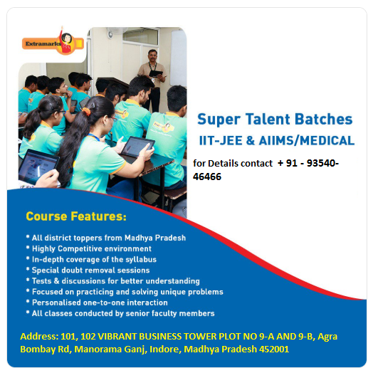 IIT-JEE/NEET/Foundation Coaching Center In Monoramaganj Indore