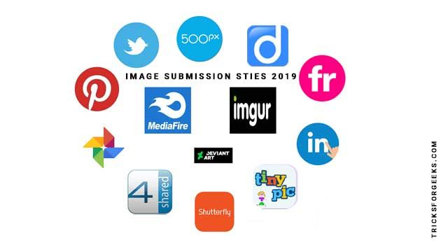 Free Image Submissions Sites List 2019 - TricksForGeeks