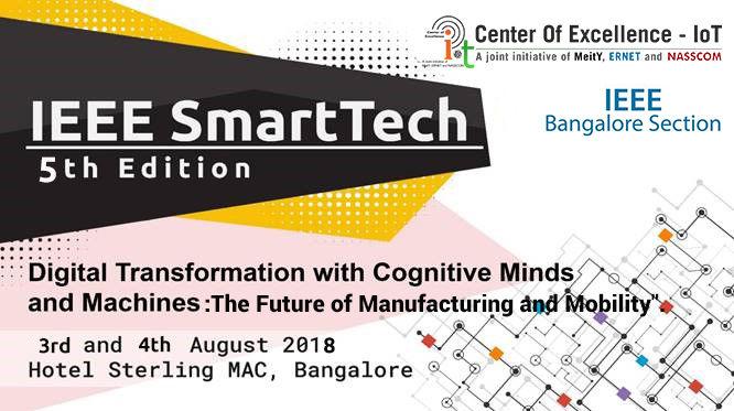 IEEE SmartTech, 5th Edition - Nasscom CoE IoT