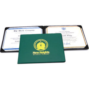 Certificate Holders are Thoughtful Promotional Item