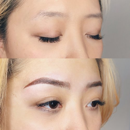 Microblading Training by Six + Ait
