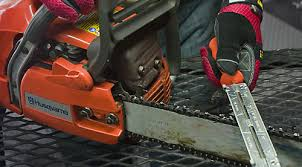 Main kinds of chainsaw sharpeners