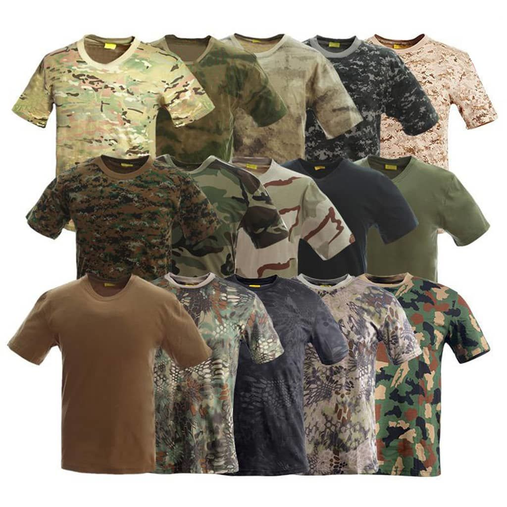 Tactical T Shirts For Military- Hard Shell