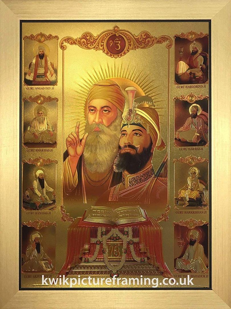 guru nanak dev ji and sikh 10 gurus