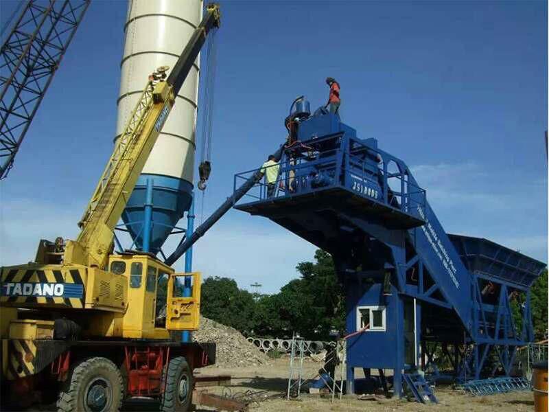 Concrete Batching Plant HZS120