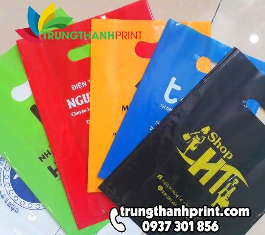 Xưởng sản xuất túi hột xoài PE, PP, HD giá rẻ HCM | Trung Thành Print