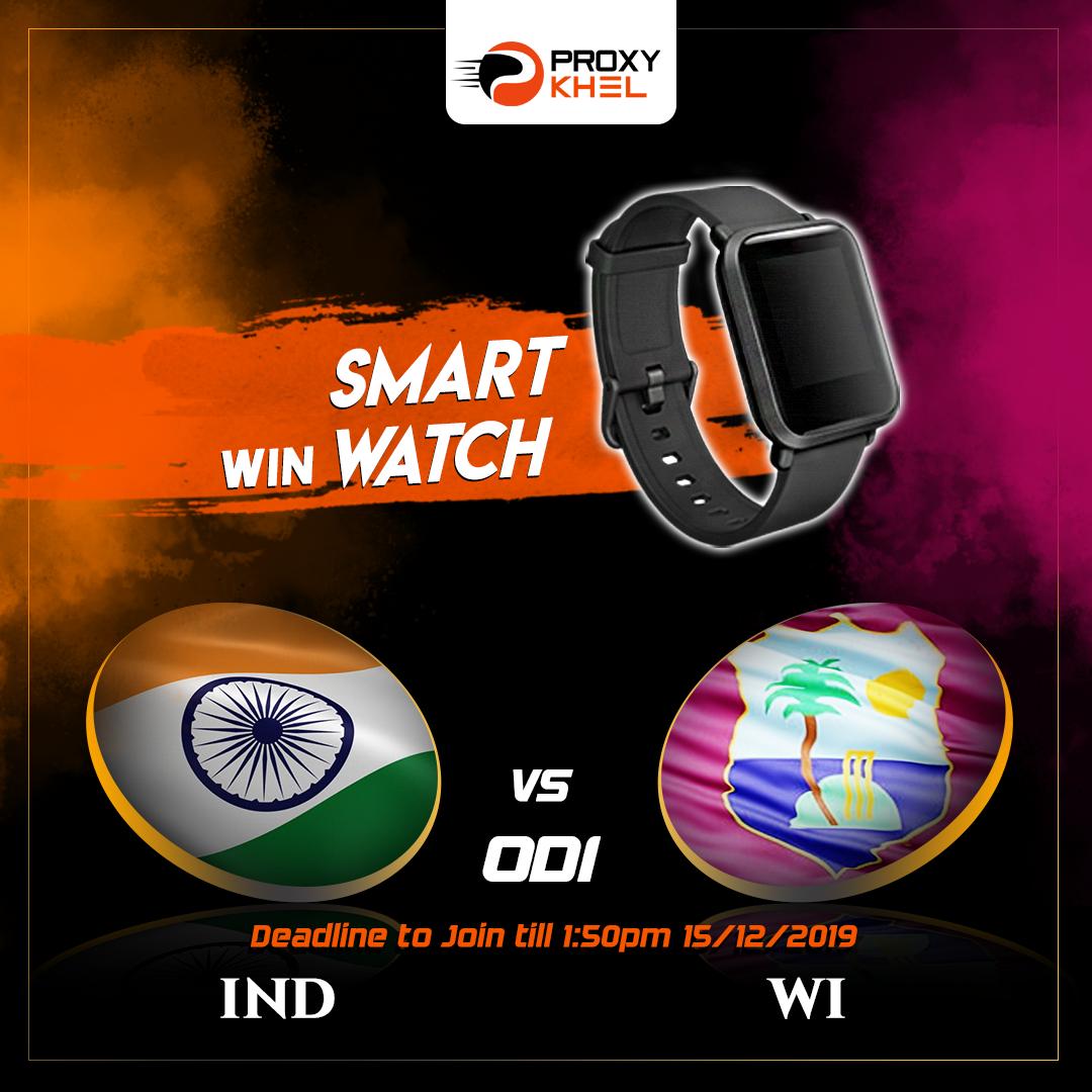 India vs West Indies ODI 01 | Proxy Khel Fantasy Cricket Predictions.