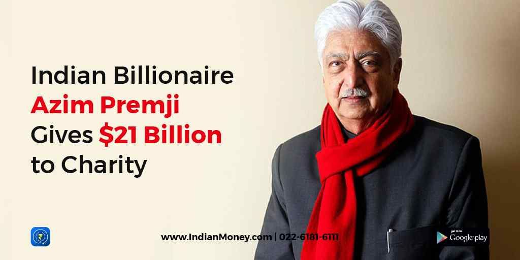 Indian Billionaire Azim Premji Gives $21 Billion To Charity