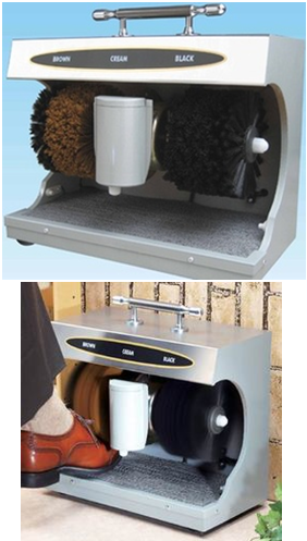 Industrial Auto Shoe Shine Machine