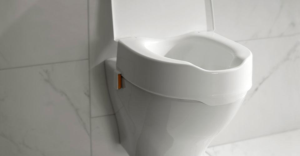 Raised Elongated Toilet Seat For Elderly