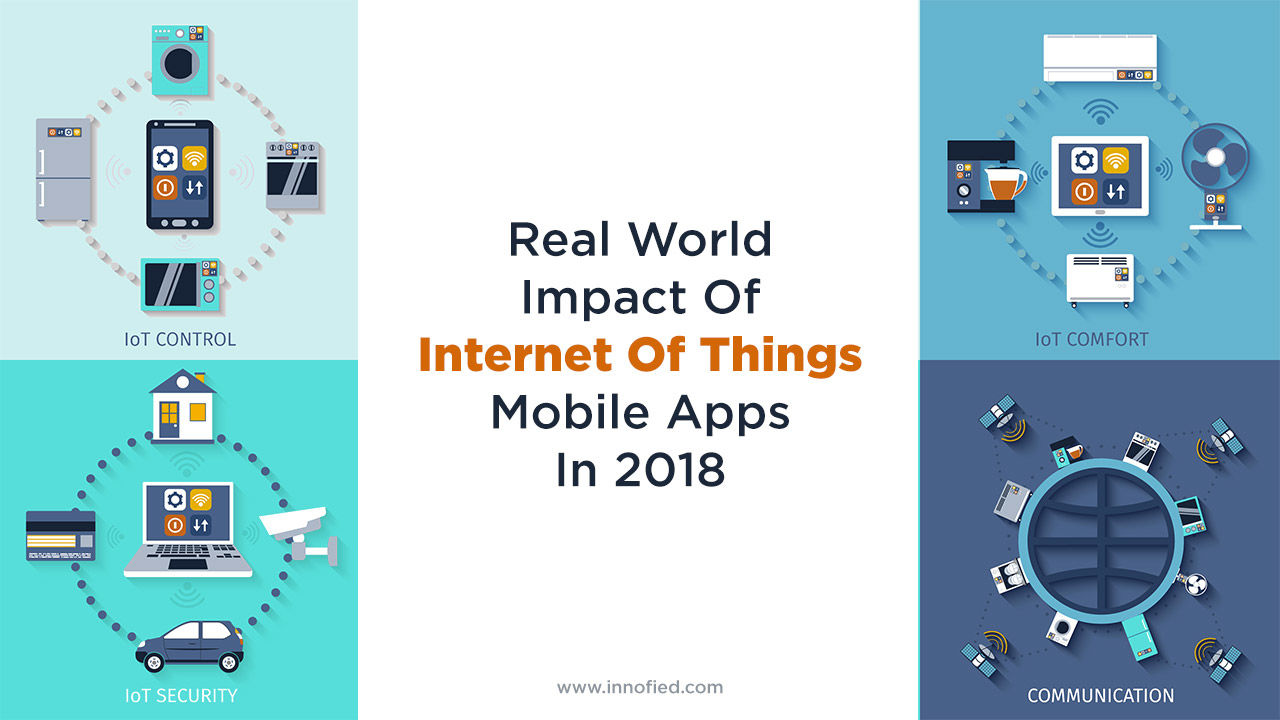 Real World Impact Of IoT Mobile App Development In 2018+INFOGRAPHIC