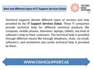 IT Support Services Dubai - Download - 4shared - IT AMC Support Dubai