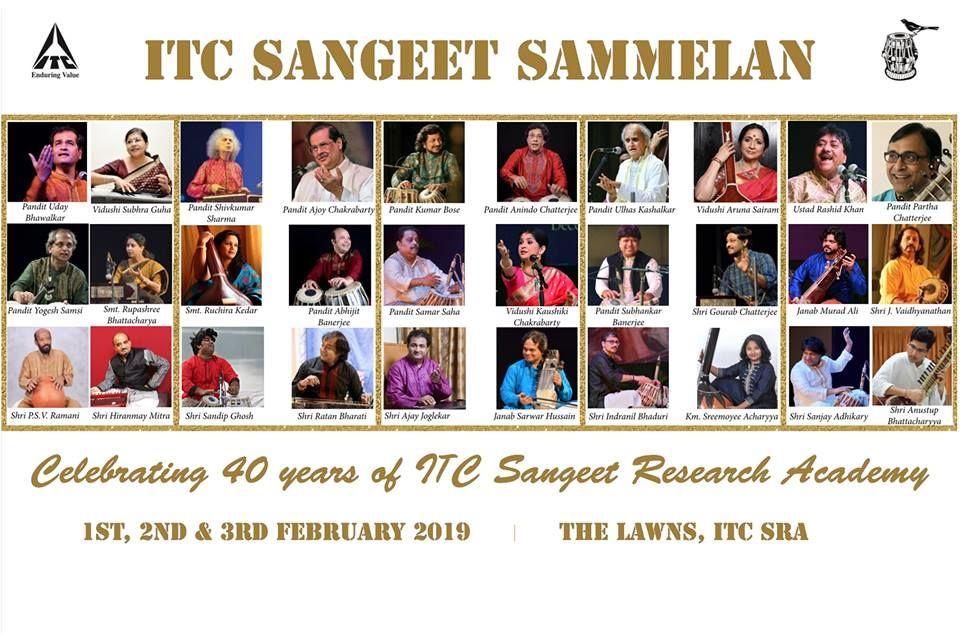 A Star Studded night of ITC Sangeet Sammelan 2019 - Excelebiz Blog