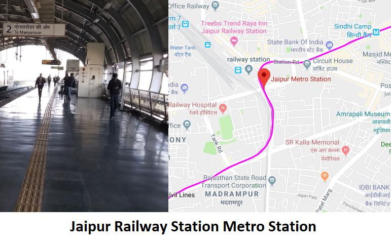 Jaipur Railway Station Metro Station Jaipur - Routemaps.info