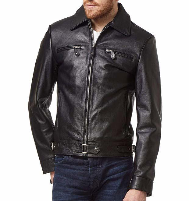 Jaket Kulit PriaKP033 - Tozca Leather