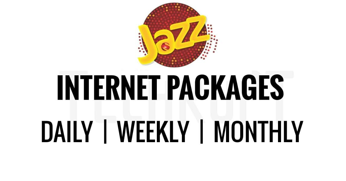 Jazz Internet Packages 2020: - Daily, Weekly and Monthly - Techrupt