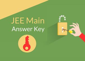 JEE Main Answer Key 2019