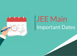 JEE Main Important Dates 2019