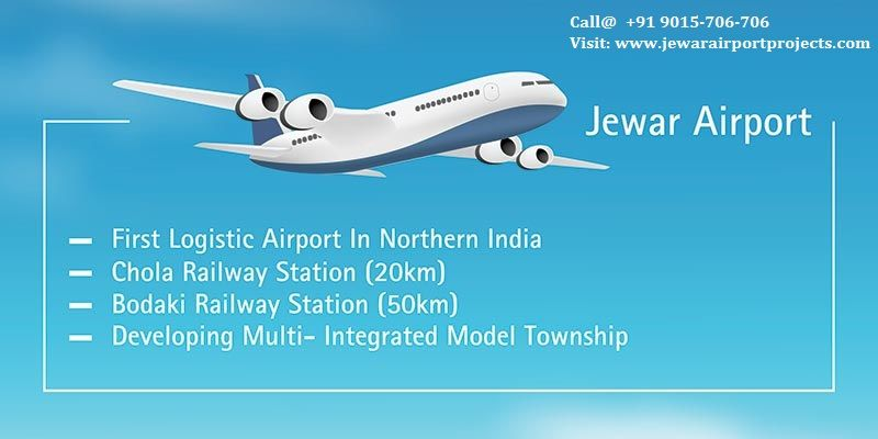 Jewar Airport Projects – A Perfect Destination to Purchase your Dream Lands