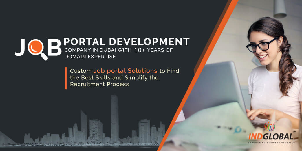 Job Portal Development Development Company in Dubai | IndGlobal