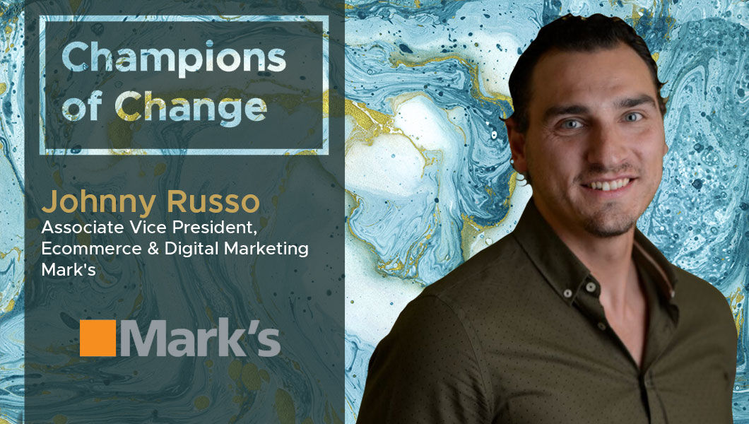Interview with Johnny Russo, AVP, Digital Marketing and Ecommerce at Mark's | The Digital Enterprise