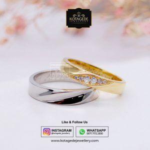 Jual Cincin || Free Ukir Nama Laser & Free Box Cincin Kayu Premium