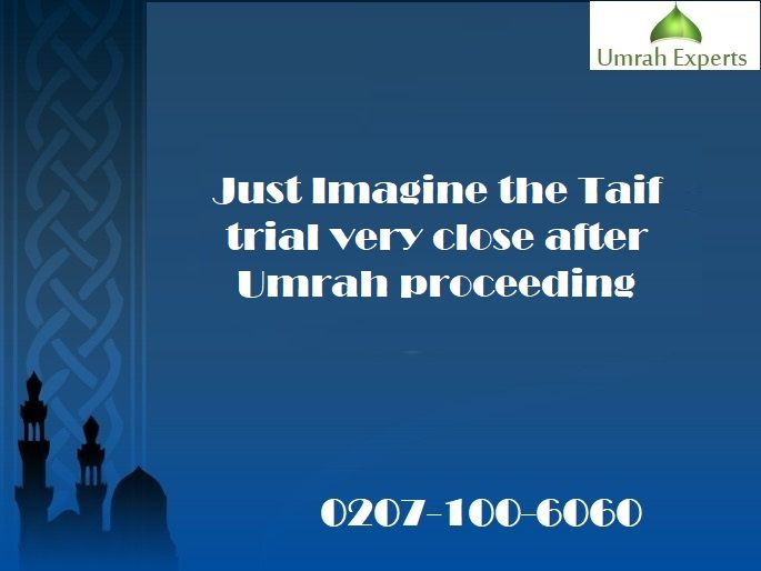 Just Imagine the Taif trial very close after Umrah proceeding