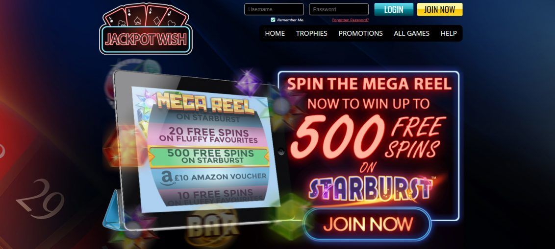 Jackpot Wish Casino Bonus - Takes Care to Make Sure the Safety and Security