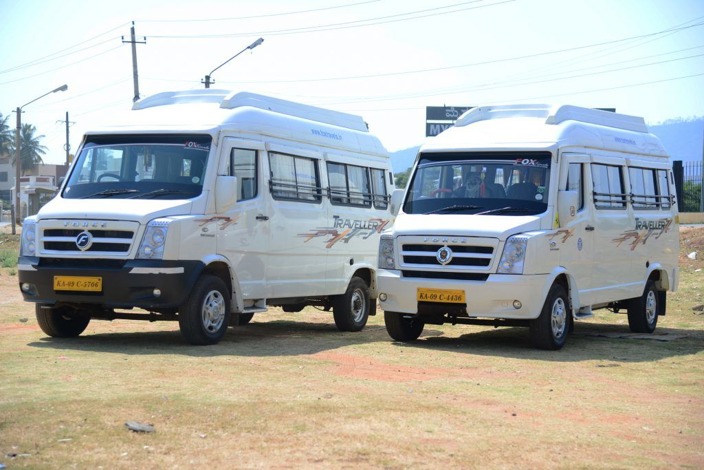 12,16,20 Seater Ac Non Ac Tempo Traveller For Rent In Mysore