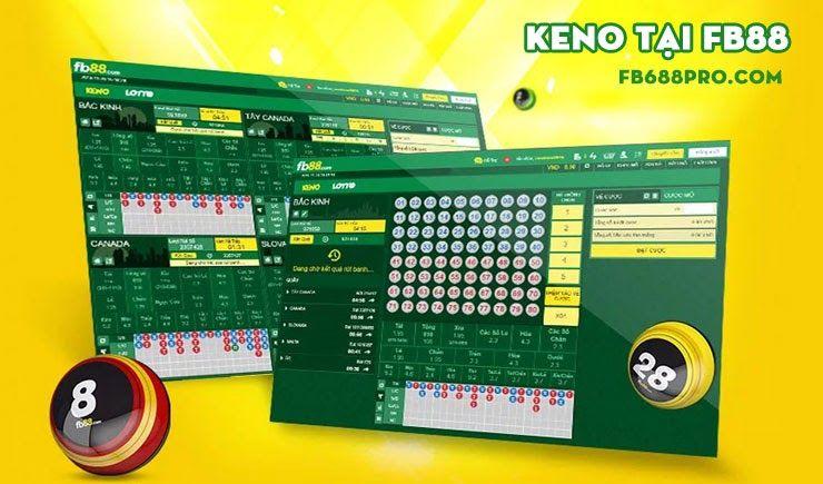 Đặt cược Keno tại FB88