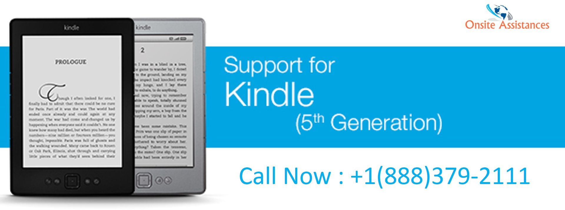 Toll free kindle customer support | 1-888-370-1999 | onsite assistances