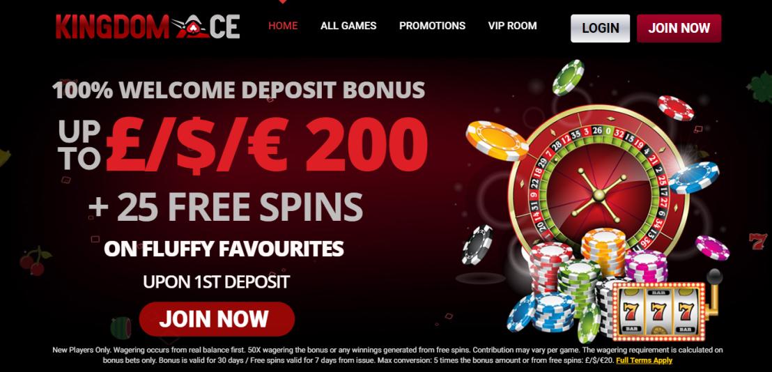 Know About Best UK Online Site Kingdom Ace Casino – Best Bingo Deals UK