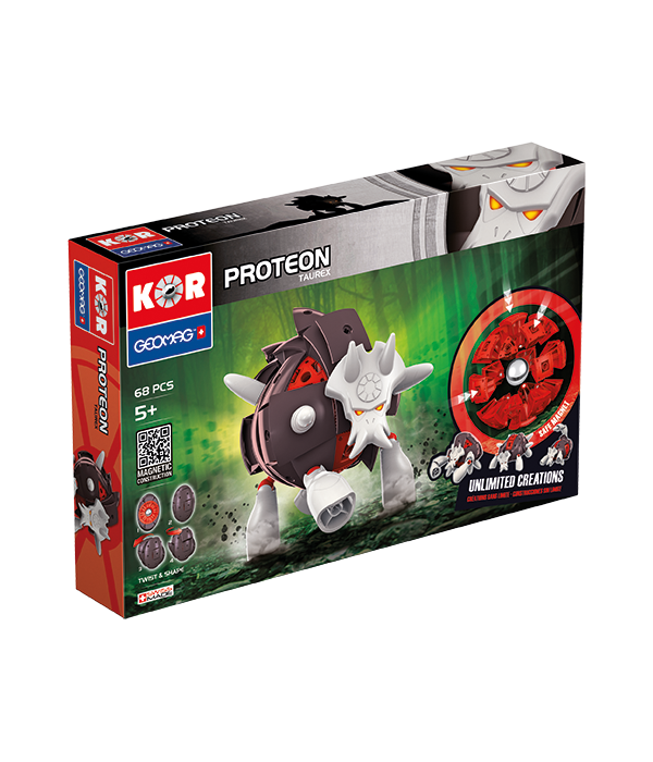 Buy Magnetic KOR Proteon Taurex construction toys | Buy Geomag toys |