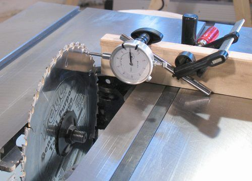 Process of Aligning Your Table Saw Blade - Caroline Garcia - Blog.