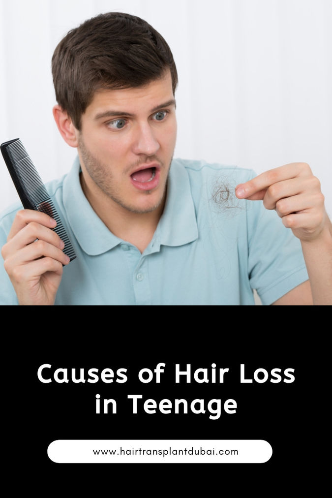 Causes of Hair Loss in Teenage - Abia amir - Blog.