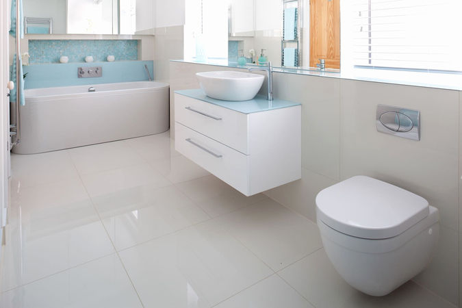Designing a Bathroom Easy to Clean